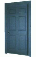 Steel fire-safe doors