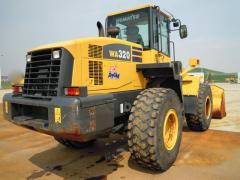 Used KOMATSU WA320 wheel loader, Used loader