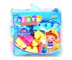 Cubes mades of plastics