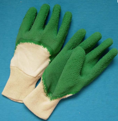 Latex coated gloves-6136AR