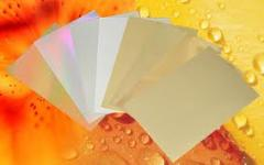 Aluminium-coated paper