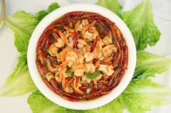 水煮汉虾(蝴蝶虾)