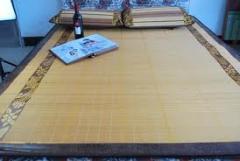 Summer bamboo mat