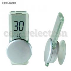 Electronic clock- thermometer (for the outdoor and