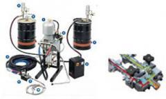 Machine tools glue-spreading automatic