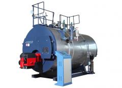 Oil/gas fired steam boiler, indsutry boiler