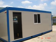 Module buildings for workers
