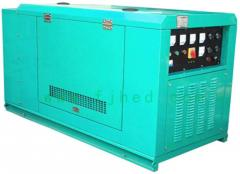 GFW单三相等功率柴油静音型发电机组