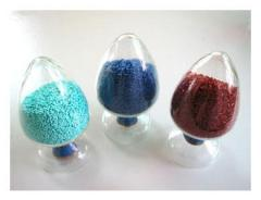 Polyester colour masterbatch