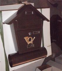 单体不锈钢信报箱