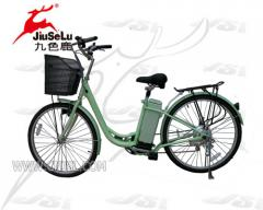 Electric Bicycle JSL-008A(Green)