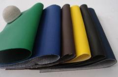 各种颜色厚度优质的磨砂革