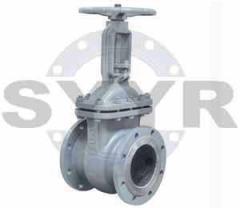Steel gate valve