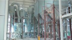 Equipment for production of gypsum, processing of