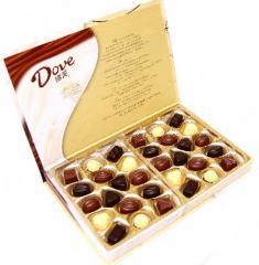 Бонбони шоколадови в кутии