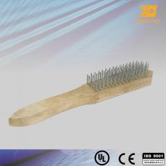 Brushes, metal-working