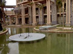 水中升降舞台