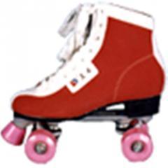 中级双排轮滑轮鞋