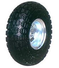 Wheels for cars, containers, equipment