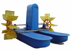 Water aerators for fish-breeding