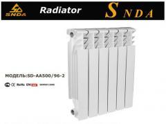 Radiators, aluminium