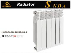 Metallic radiators