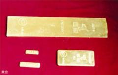 Gold, bars