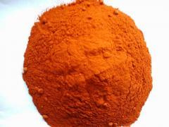 Red powder chile pepper