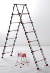 دو بخشی نردبان تاشو