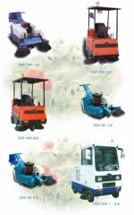Machines road sweeper-collector