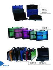 Bags, briefcases, folders and wallets