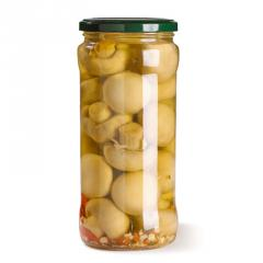 调味蘑菇罐头
