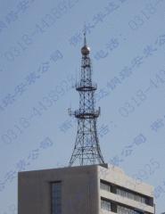 Masts of a radio communication