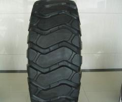 Tires for mining machinery