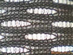 Black and white and intertwined mesh cloth