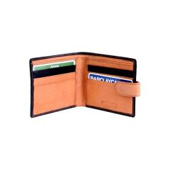 Calvador Waxy Soft Genuine Leather Wallet with tab