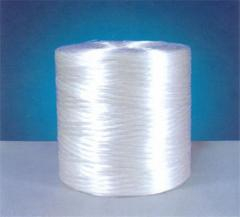 Yarn from chemical fibers