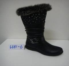 女式棉长靴