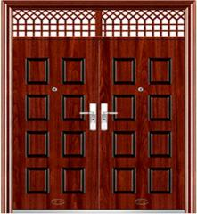 Double entrance doors