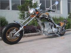 Motorcycles road