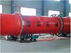 HKWH horizontal rotary sawdust dryer