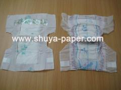 Disposable baby diaper
