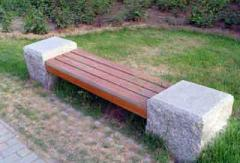 木条园林椅