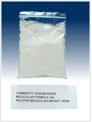 Sodium iodide for pharmacopoeia