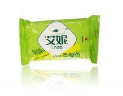 艾妮10片绿茶护肤柔湿巾
