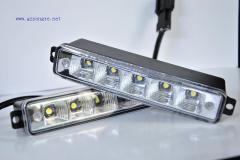 White Slim design 12-led daytime running light/led