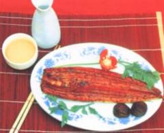 Smoked eel
