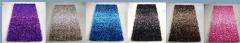 Gradient shaggy carpet