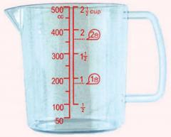 Glass measuring