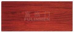 Floors made of mahogany
